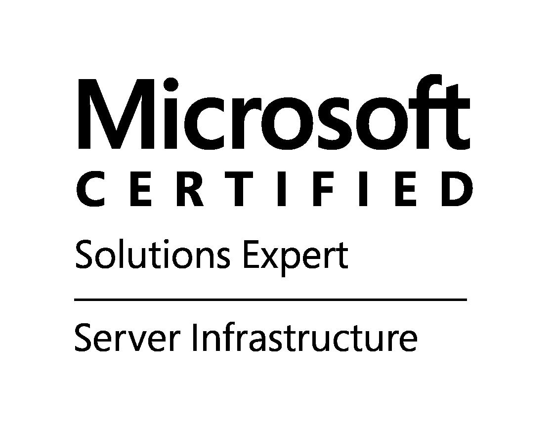 MCSE logo Server Infrastructure