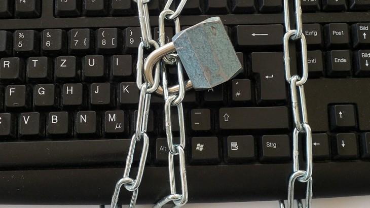 padlock keyboard